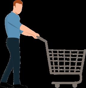 Einkaufen im Biomarkt